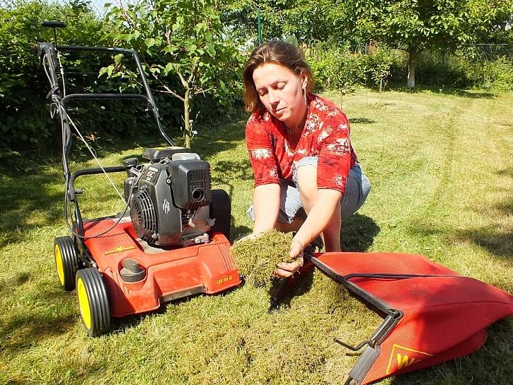 Nebojte se toho, že trávník bude vypadat hůř než na začátku
