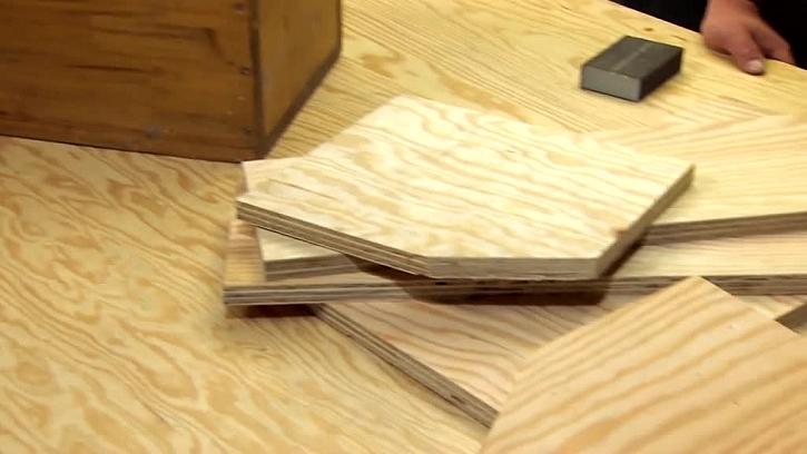 Dřevěné překližky