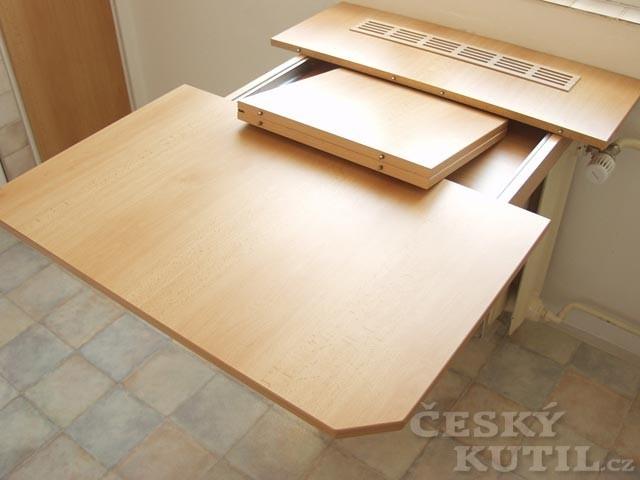 Jak vyrobit výsuvný stůl? - 1. díl.
