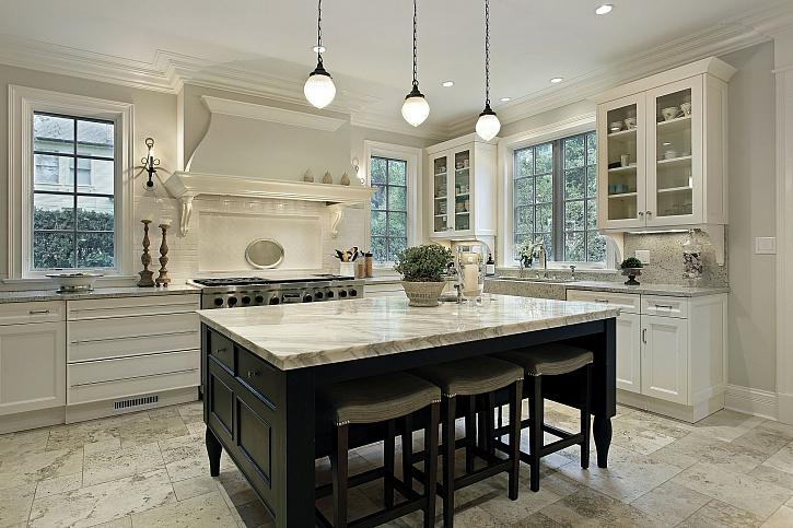 Moderní kuchyně musí být dostatečně osvětlená (Zdroj: Depositphotos)