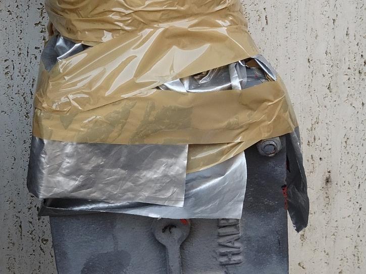 Igelitka místo pásky nebo opravy