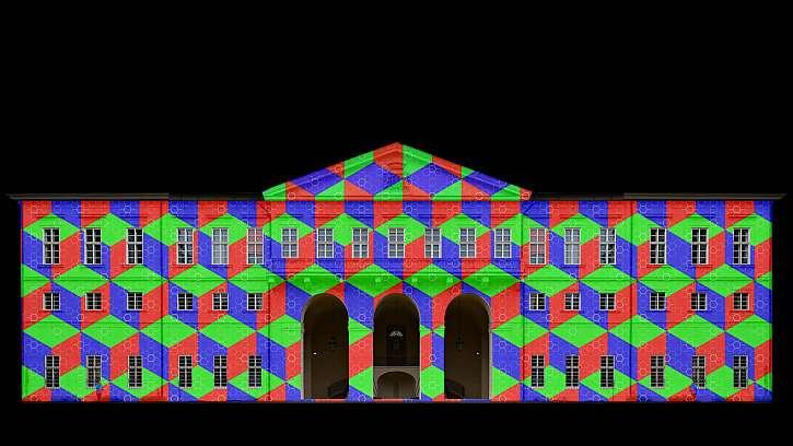 Laserová show, interaktivní kouzlení s barevnou mlhou, laserový mapping stromů, procházka pohádkově nasvíceným parkem nebo stezka UV prostorem