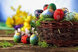 7 tipů na barvení velikonočních vajíček