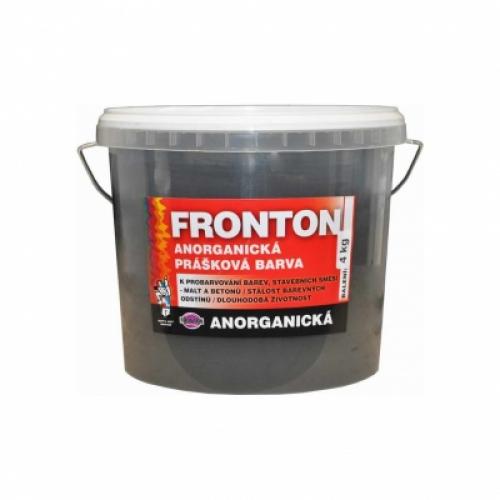 Fronton prášková barva do stavebních směsí malt a betonů, 0199 černá, 4 kg