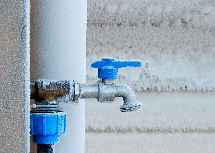 Ochranou potrubí proti zamrznutí ovlivníte kvalitu dodávané vody