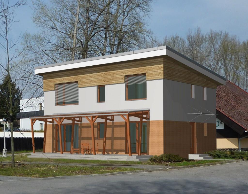 První pasivní cihlový dům