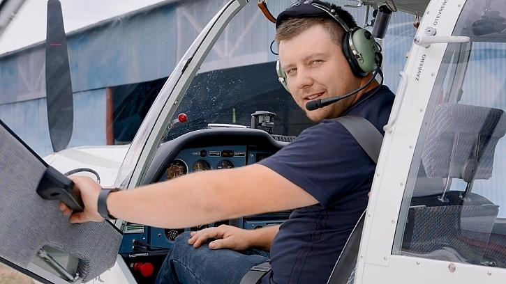 František Kaňka - letecký mechanik (Zdroj: Prima DOMA)