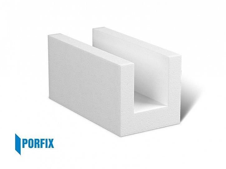 U-profily plní funkci ztraceného bednění a jsou vhodné pro zhotovení nosných překladů nebo zpevňujícího věnce stavby