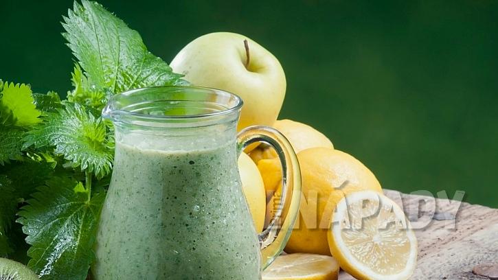 Kopřivové detoxikační smoothie