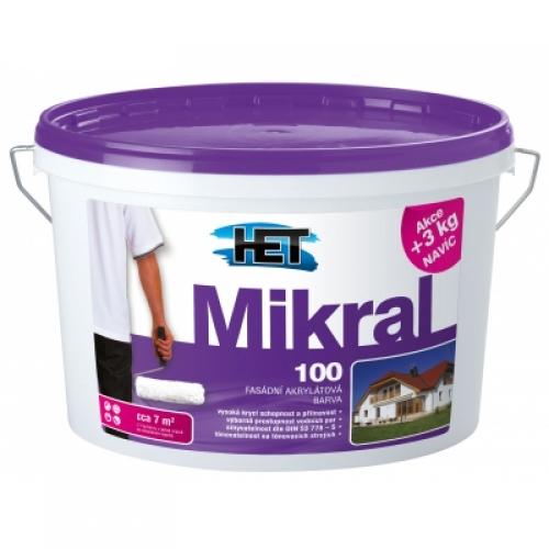 Het Mikral 100 fasádní barva, 15+3 kg