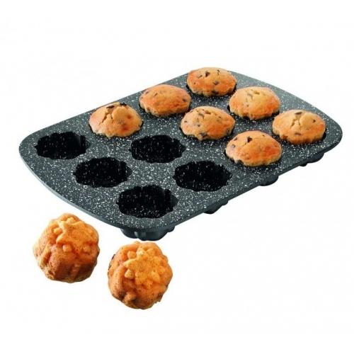 STONELINEForma na muffiny s mramorovým povrchem, 12ks