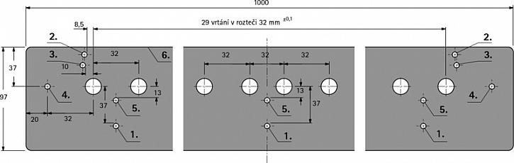 Přesné vrtání děr s vrtací šablonou ACCURA