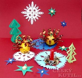 Sladký ježek a prostřihované hvězdičky pro děti