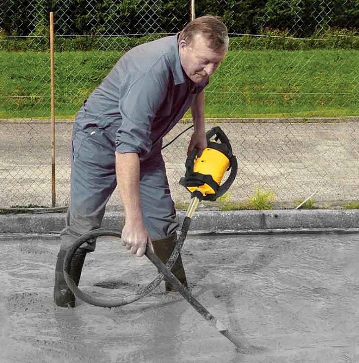 Zásady správného vibrování betonu. Dodržujete je?