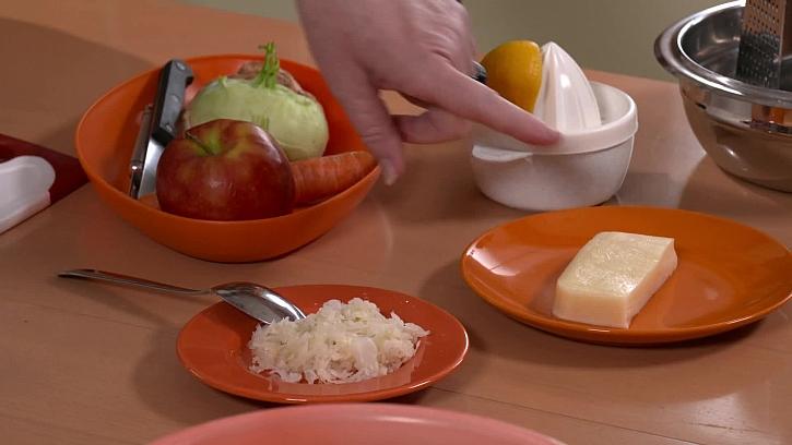 Suroviny pro dietní salát