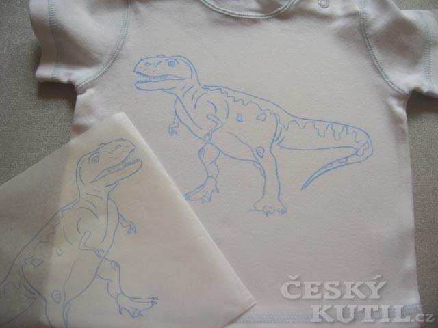 Malování na textil – tričko