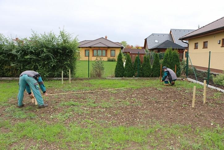 Stavba zahradního domku 5 x 4,5 m (22,5 m2)