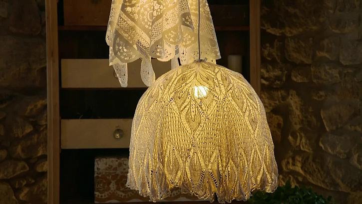 Výroby originálního dekorativního světla