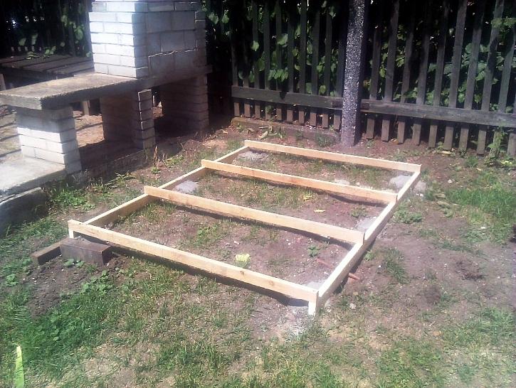 Domek pro děti na zahradu