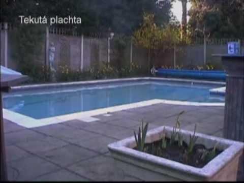 Tekutá plachtana bazén