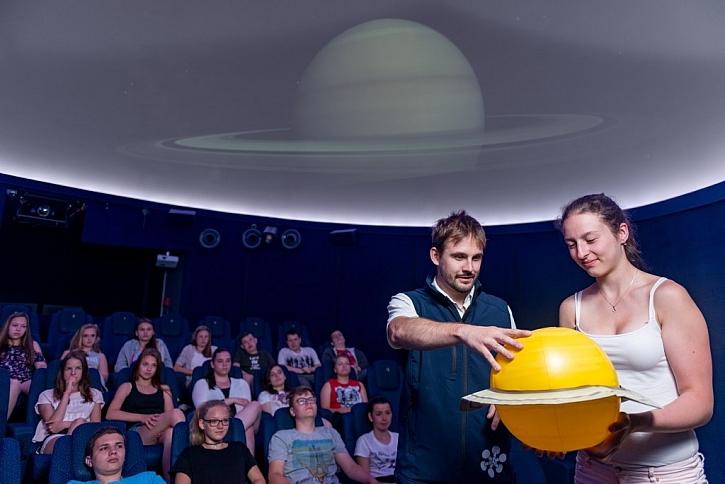 Planetárium v iQLANDII