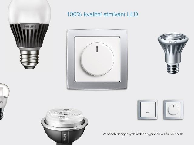 Nové stmívače ABB pro LED zdroje