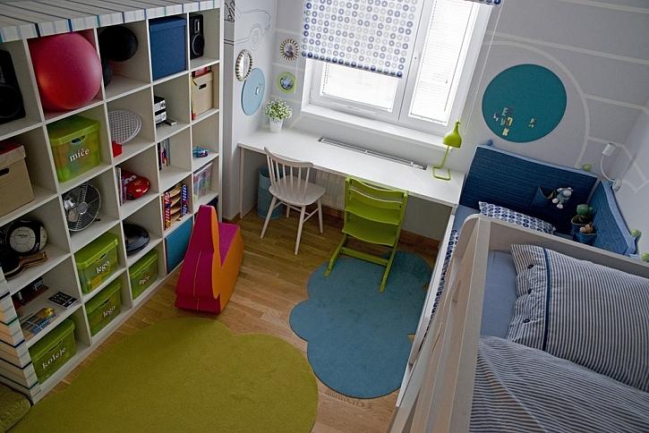 Dveře do dětského pokoje