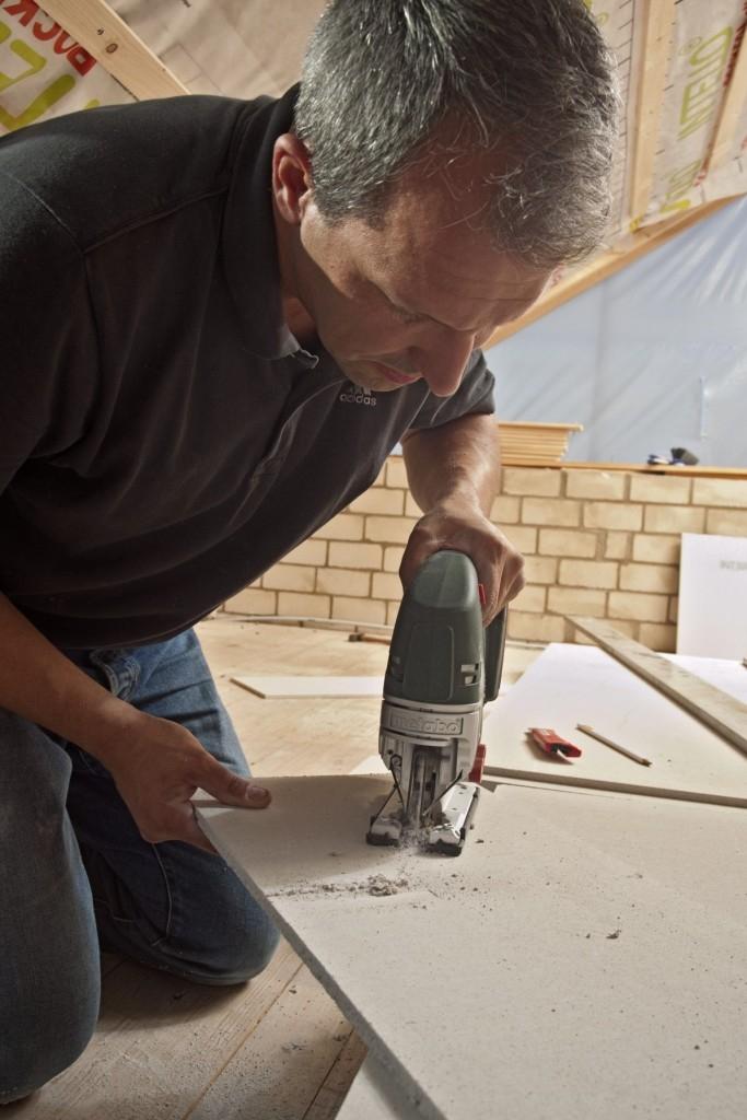 Postup prací při úpravě podkroví s deskami fermacell greenline