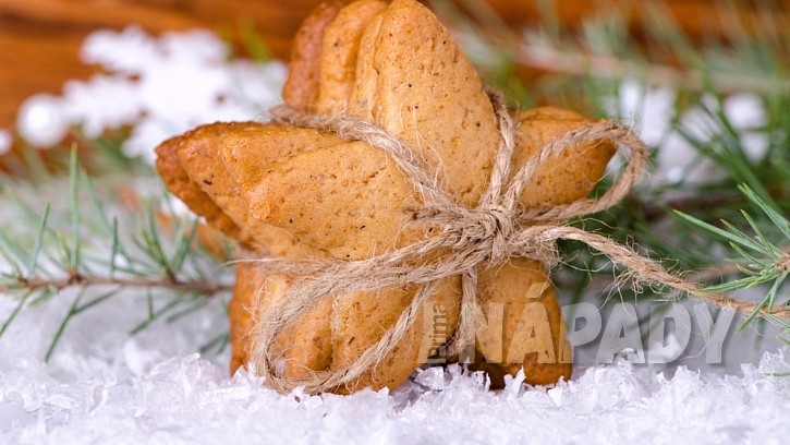 Zdravé vánoční cukroví bez tuku - to jsou zázvorky!