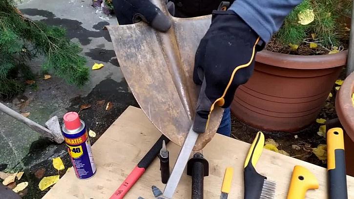 Jak připravit zahradní nářadí na zimu