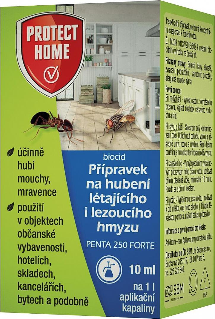 Protect Home přípravek na hubení létajícího a lezoucího hmyzu