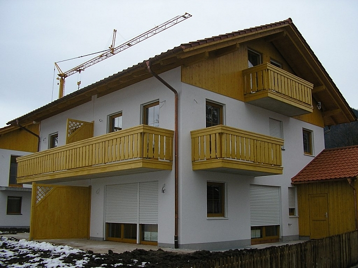 Alpský balkon k alpskému stylu