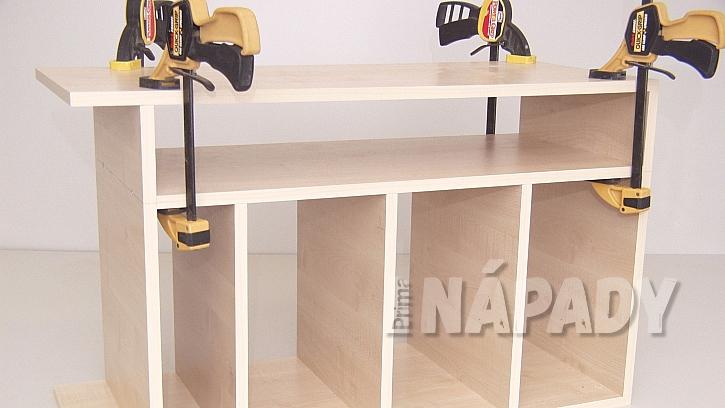 Jak si za jedno odpoledne vyrobit šikovný stolek na časopisy, knížky i velké obrazové publikace 4