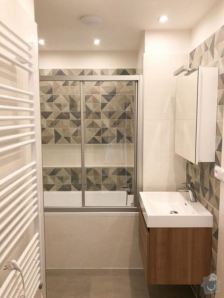 ..... po rekonstrukci - nová koupelna