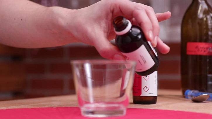 Přidání alkoholu