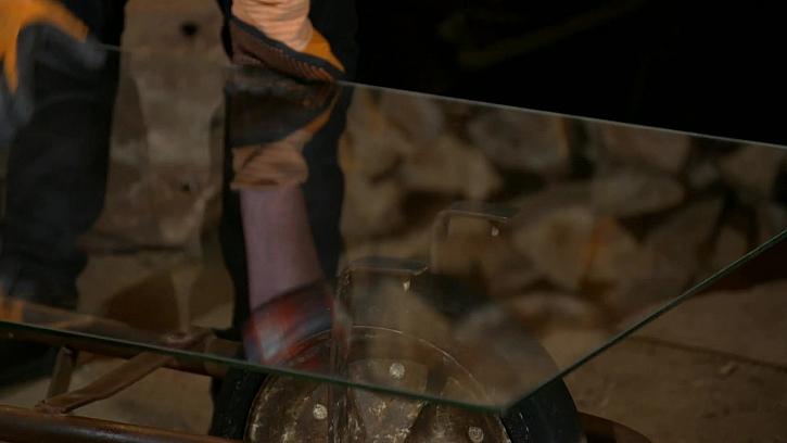 Položení skla