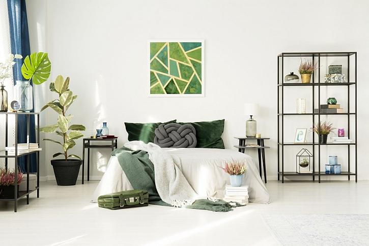 Drátěný program v interiéru může působit i dekorativně