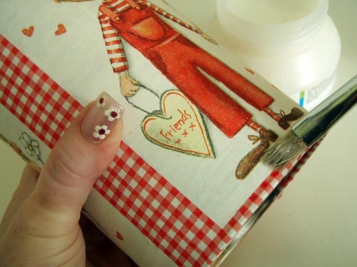 Nerchau - výroba nástěnky a dózy na tužky