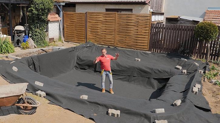 Jak si založit jezírko na zahradě - 2.díl
