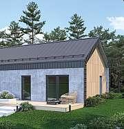 Nové řešení okapů pro minimalistický design staveb