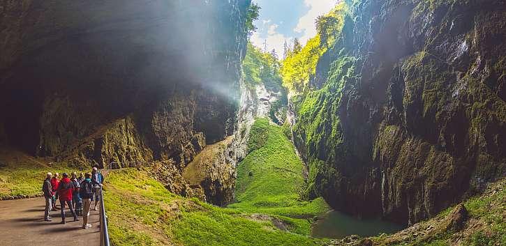 Punkevní jeskyně, Macocha a Kateřinská jeskyně