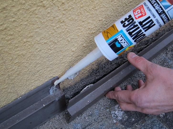 Opravy, kterým se nevyhneme – univerzální montážní lepidlo Bison Montagekit