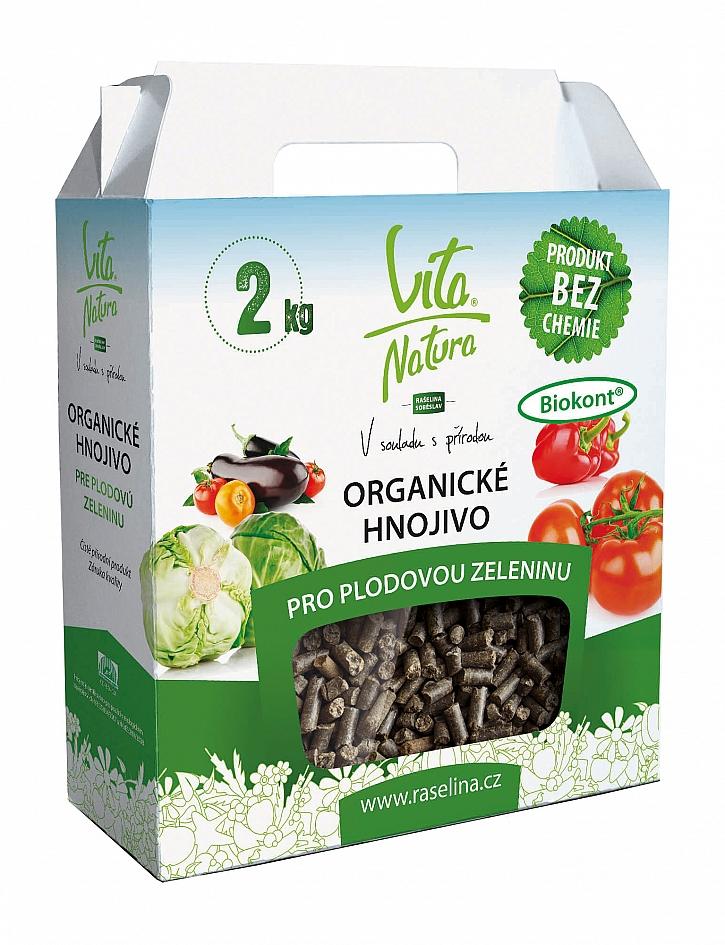 Řada Vita Natura obsahuje základní organické produkty
