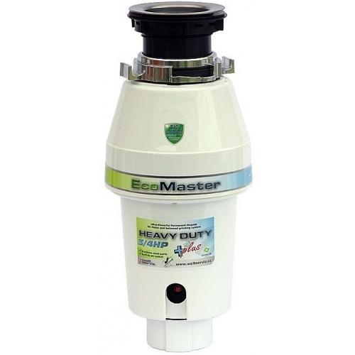 VÝPRODEJ poškozený karton EcoMaster HEAVY DUTY Plus drtič kuchyňského odpadu 001010003