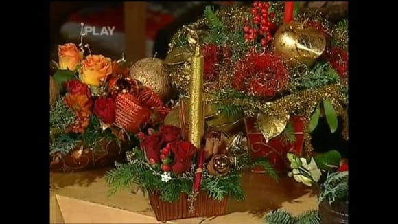 Výroba vánočních svícnů