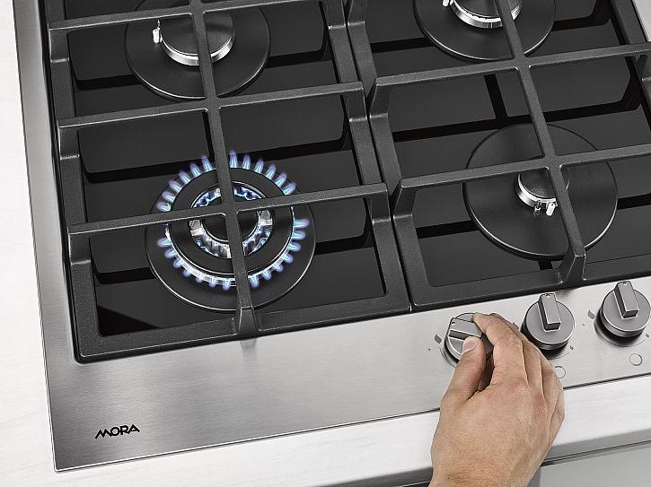 Plynová varná deska_Integrované zapalování hořáků_VDP645GX1