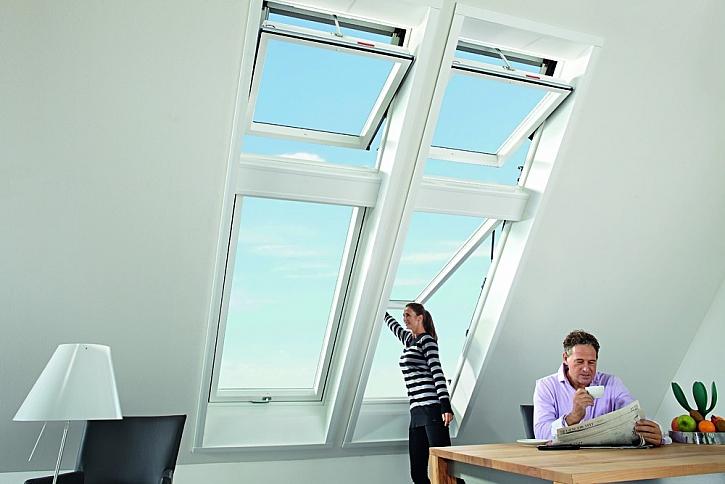Atraktivní a efektivní sestavy: kyvné okno Designo R6