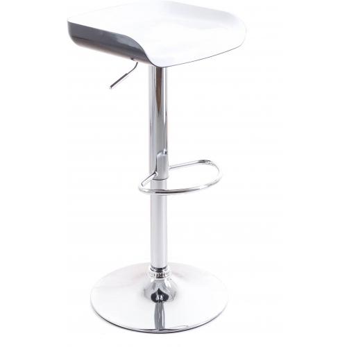 G21 Barová židle Whieta plastová