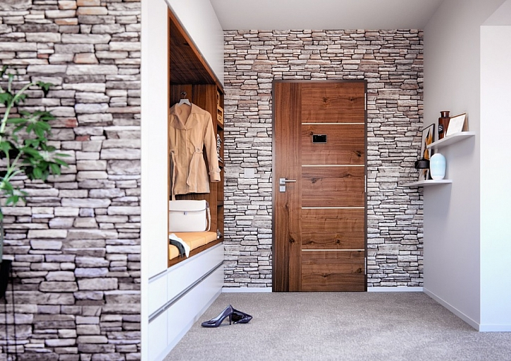 Design bezpečnostních dveří od SAPELI