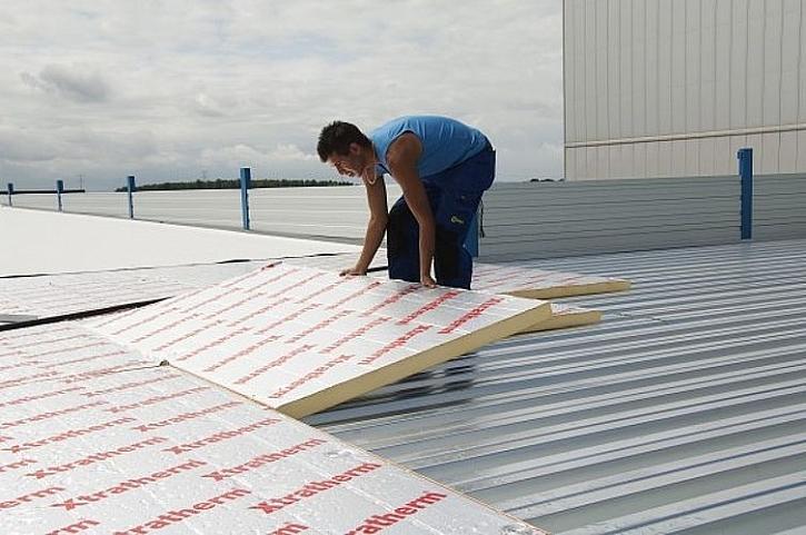 Jak zateplit rovnou střechu
